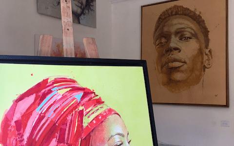 「トリニダーのアートギャラリーとライブハウス」芸術が盛んな、キューバ世界遺産の街