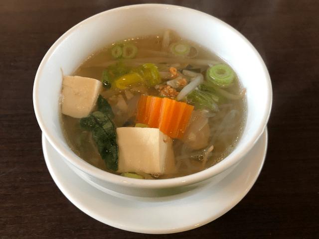 春雨のスープ