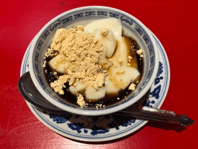 豆花(トーファー)黒蜜ときな粉