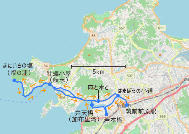 mataichicycling - map